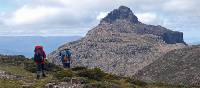 Trekking toward the remote dolerite peak of Mt Anne | Chris Buykx